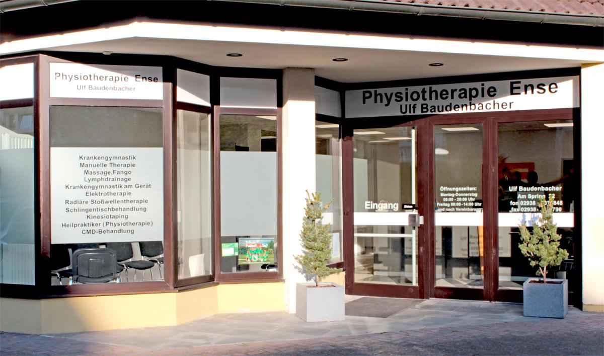 Physiotherapie Ense von Außen